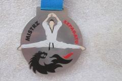 Medal z kolorowymi nadrukami