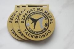 Medale metalowe, średnica 5 cm, z indywidualnym nadrukiem