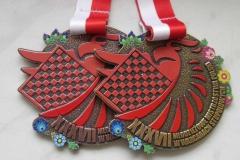 Medale sportowe,  z dedykowaną grafiką
