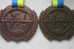 Medal odlewany na turniej rycerski
