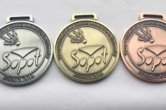 Medale na turniej badmintona