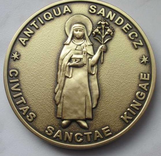 Medal okolicznościowy na zamówienie 3D wykonany przez firmę ARTsKAM