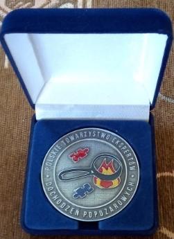 medal pamiętkowy wykonany przez Artskam